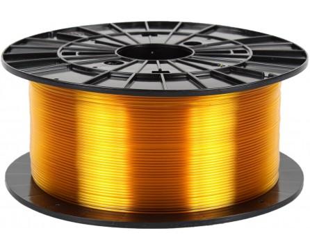 PETG - transparent yellow (1,75 mm; 1 kg)