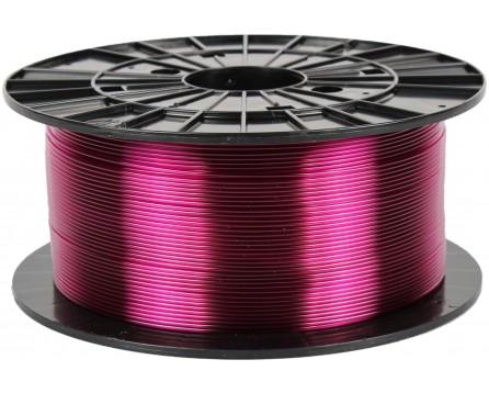 PETG - transparent violet (1,75 mm; 1 kg)