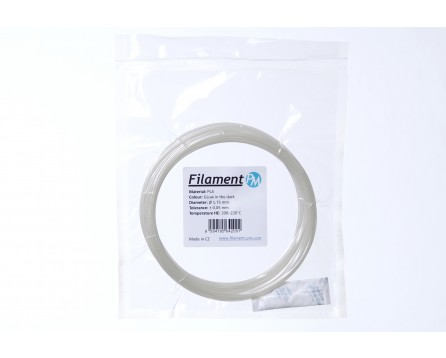 Sample PLA GlowJet - glowing in the dark (1,75 mm; 10 m)