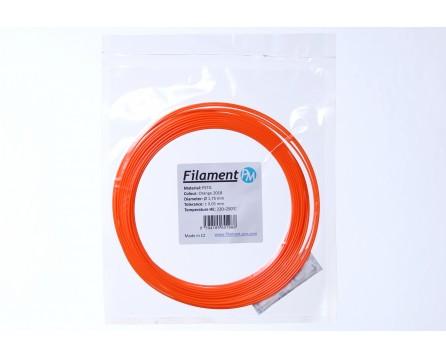 "Sample PETG - ""orange 2018"" (1,75 mm; 10 m)"