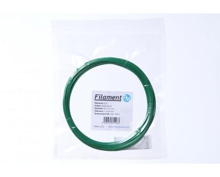 Sample PLA - pearl green (1,75 mm; 10 m)