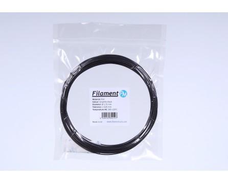 Sample PLA - graphite black (1,75 mm; 10 m)